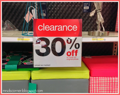 Teacher's Guide to Shopping at Target