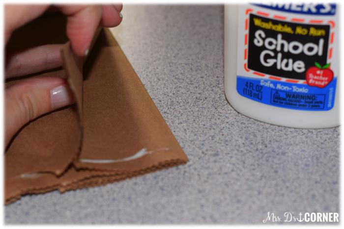 BHM Research Creativity. Glue the top closed.