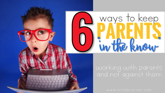 "6 Ways to Keep Parents ""In the Know"""