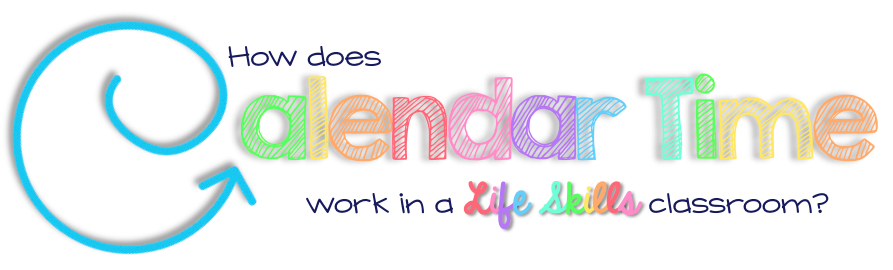 Calendar Time in Life Skills
