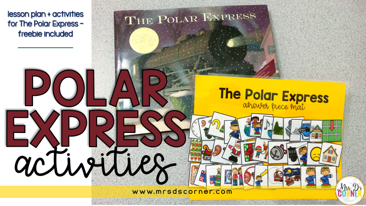 Polar Express Activities and Lesson Plans + a FREEBIE