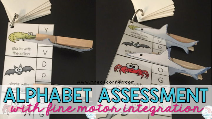Fine Motor Alphabet Activity Using Clothespins