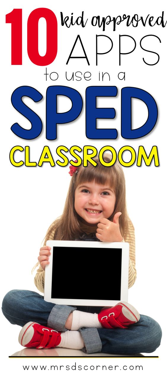 Technology is around our students everywhere. At school, at home, in the community. These are apps that I have used in my self-contained classroom and are loved by all of my students. List of 10 educational apps for sped, at Mrs. D's Corner.