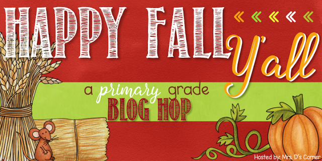 Happy Fall Y'all – A Primary Grade Blog Hop
