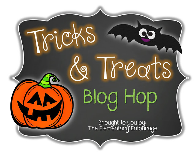 Tricks and Treats Blog Hop { with the Elementary Entourage }