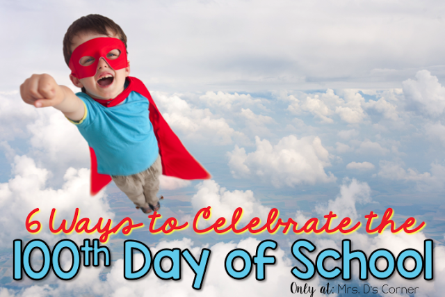 100th Day Celebration in Special Ed