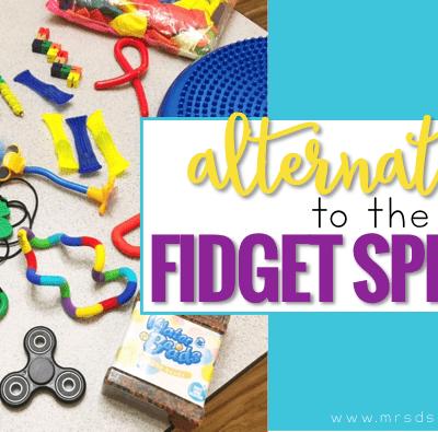 Sensory Alternatives to the Fidget Spinner