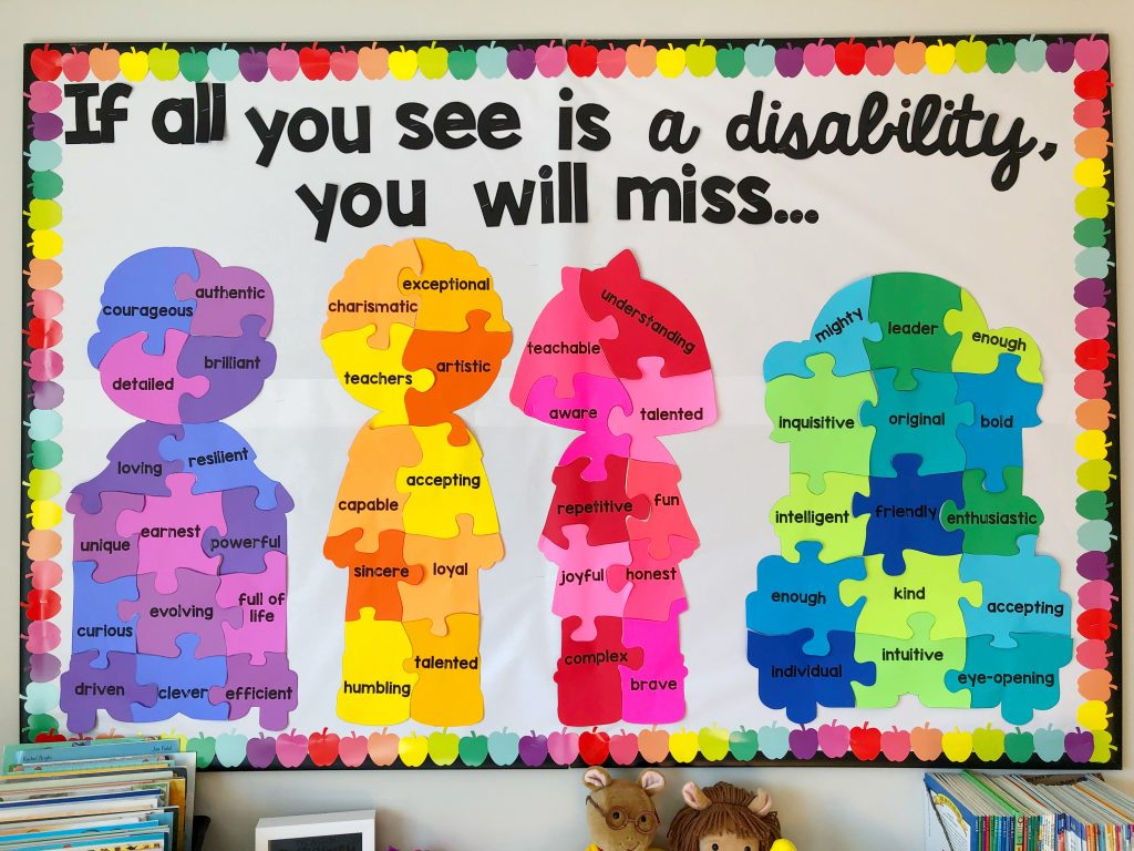 disability awareness bulletin board