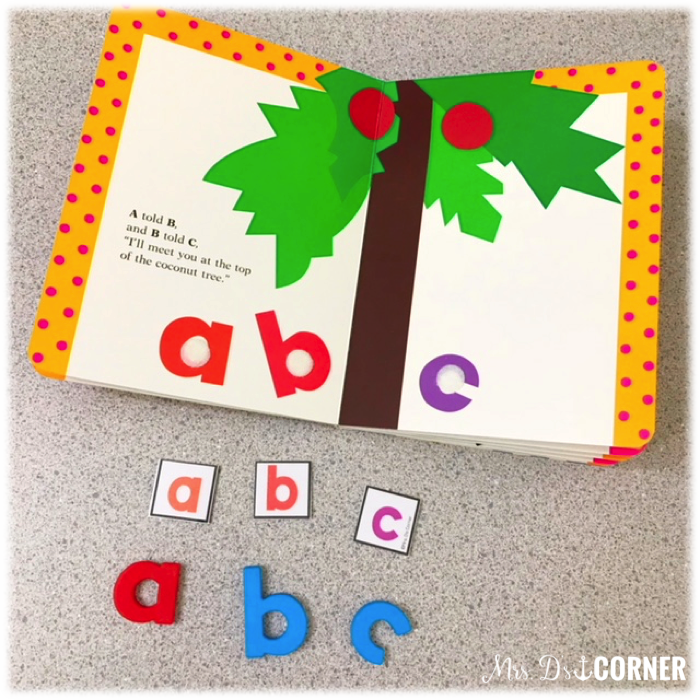 Find simple activities to send home with a book, like magnetic letters with chicka chicka.