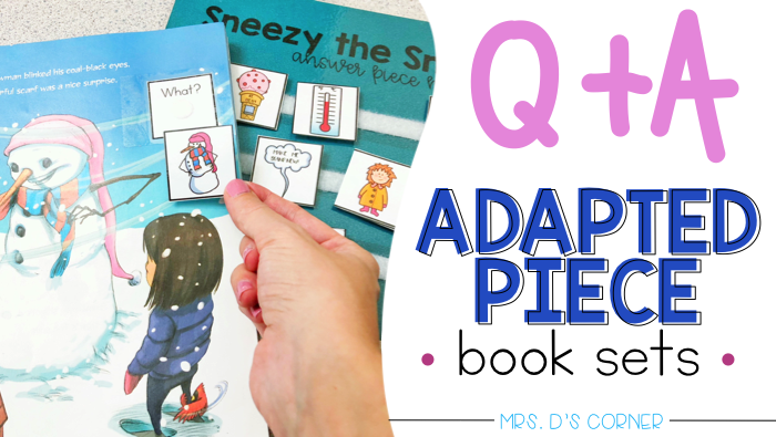 Your questions answered about adapted books and adapted piece books sets.