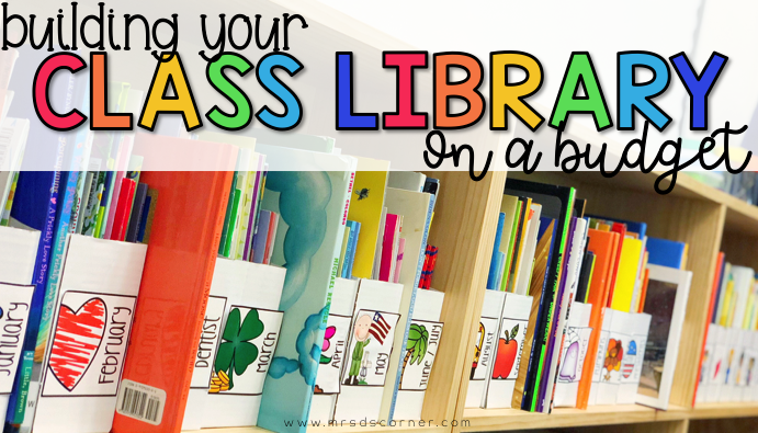 Tips for how to build your classroom library on a budget and where to find inexpensive cheap books for your classroom.
