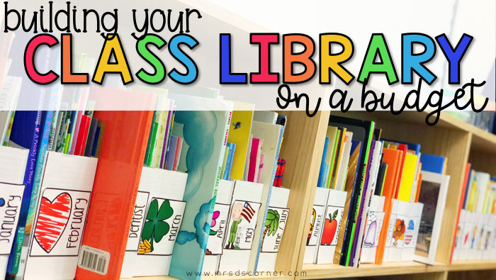 Tips for how to build your classroom library on a budget and where to find inexpensive cheap books for your classroom. A list of 12 places to find cheap books for teachers.