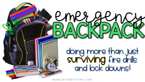Emergency Backpack: Being Prepared for Anything