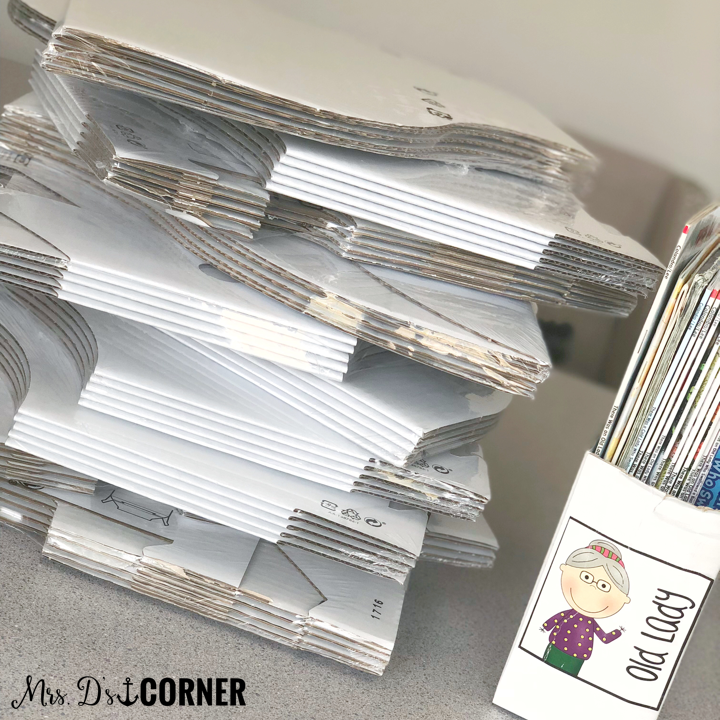 IKEA FLYT book bins for your classroom library organization. cheap library organization. blog post at mrs. d's corner.