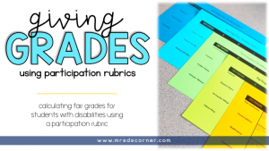How to Give Grades in Special Education