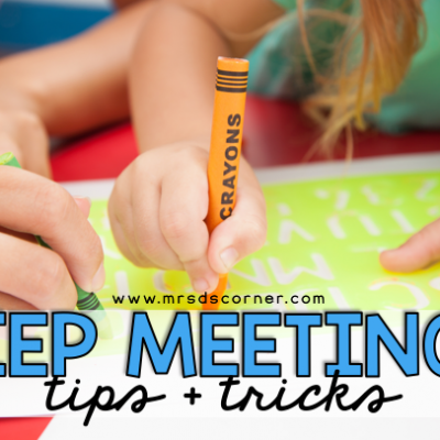 IEP Meeting tips and tricks for new and veteran teachers to rock that IEP meeting. Blog post at Mrs. D's Corner.