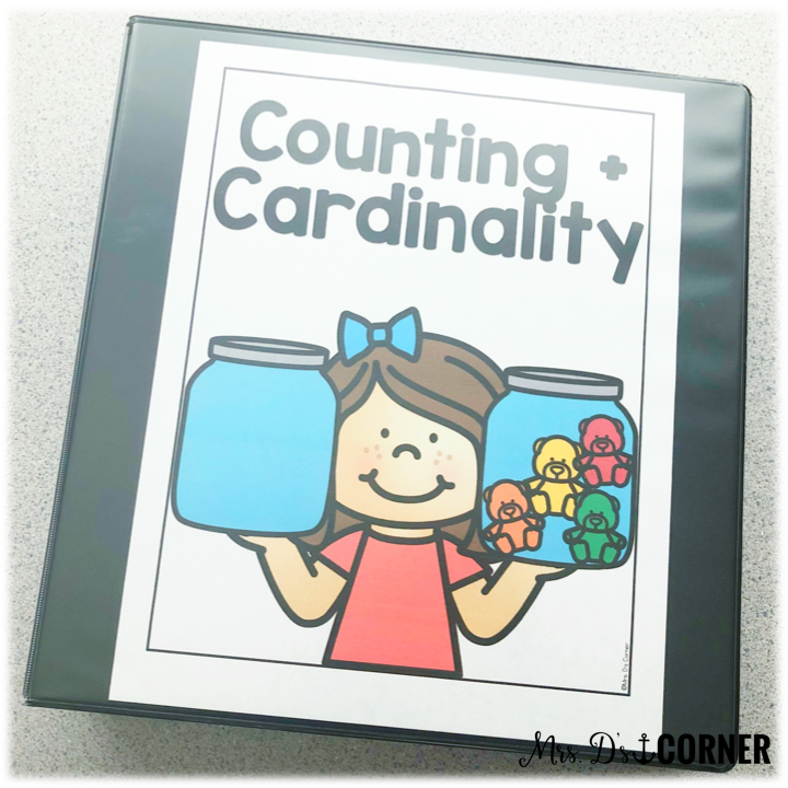 • Counting and Cardinality Count to 100 by ones and tens Write numbers 0-20 1:1 Correspondence Greater Than, Less Than, Equal to math assessment