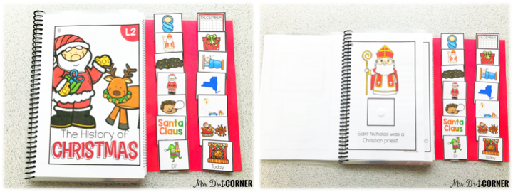 holidays around the world - laminate a blank sheet of cardstock and add 2 or 3 strips of velcro to store the answer choices