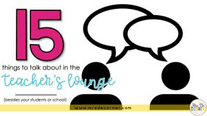 positive teacher lounge blog post header