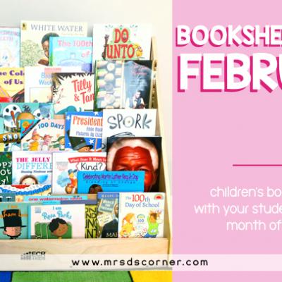 Bookshelf Share February books for kids