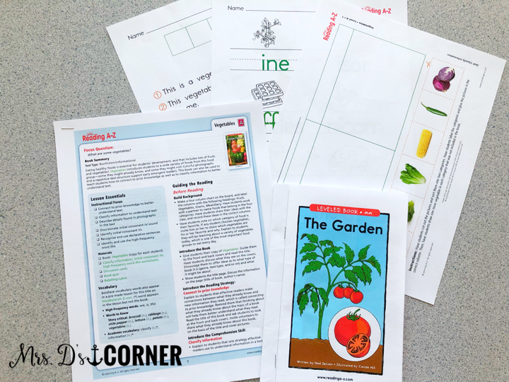 do I follow the reading a-z guided reading lesson plan? explained.