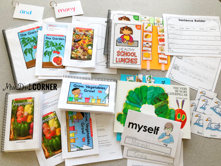 One weeks worth of guided reading lesson plans, adapted and ready to implement in guided reading groups. Guided reading in self contained.