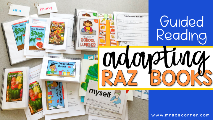 Guided Reading Lessons + Rotation in Self Contained SPED – Part 2